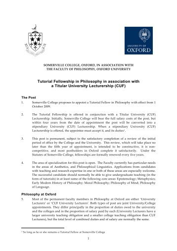 [Somerville logo here - Somerville College - University of Oxford