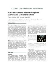 PureForm Ceramic Restorative System - Zimmer Dental