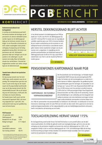 PGB-Bericht oktober