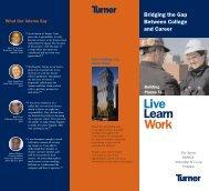 Turner Construction: Intern Program Brochure - Brookman ...