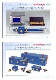 Rosenberger bedea - Bedea Berkenhoff & Drebes GmbH