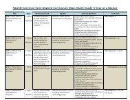 2013-2014 Curriculum Map Year-at-a-Glance Grade 5 Math