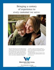 mag ad - Western National Insurance Group