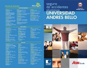 Centros de Atención - Universidad Andrés Bello