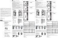 Betriebsanleitung Operating Instruction Mode d ... - OTTO GANTER