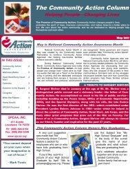 The Community Action Column - South Plains Community Action ...