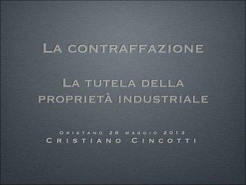 Intervento Cincotti - Consorzio UNO