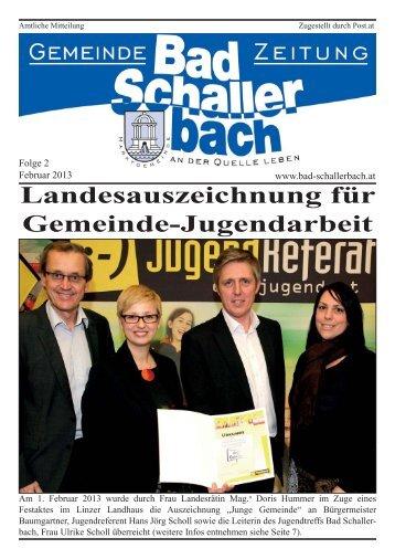 Folge 2.indd - Gemeinde Bad Schallerbach