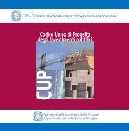 Il Codice Unico di Progetto (CUP) - Dps
