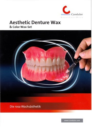Aesthetic Denture Wax - Candulor