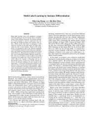 Multi-Label Learning by Instance Differentiation