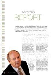 Director's Report 2007 - Australian Institute for Bioengineering and ...