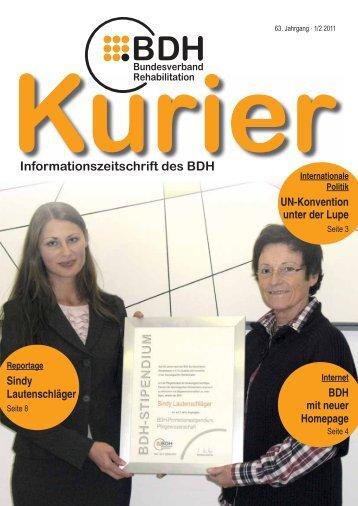 Ausgabe 1/2 2011 - BDH