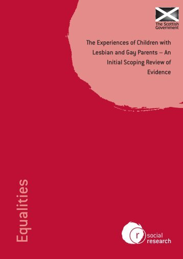The Experiences of Children with Lesbian and Gay Parents - An ...