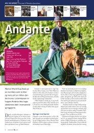 Andante 08/2009 - Dansk Varmblod