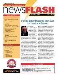 2000 Summer FLASH Newsletter - Florida Alliance for Safe Homes