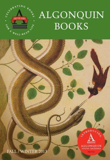 ALGONQUIN BOOKS - Workman Publishing