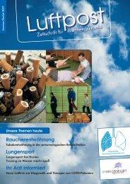 Ausgabe Herbst - 2007 - Patientenliga Atemwegserkrankungen e.V.