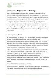 Traditionelle Heilpflanzen-Ausbildung - Heilpflanzenschule Karin ...