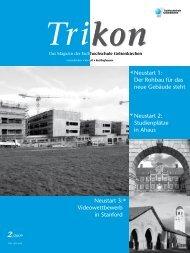 Ausgabe 2/2009 - TRIKON