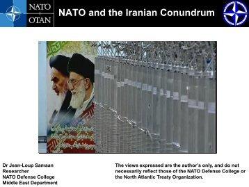 NATO and the Iranian Conundrum