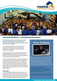 Information Sheet - Marine Conservation Society
