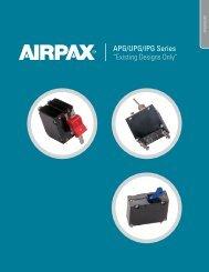 "APG/UPG/IPG Series ""Existing Designs Only"" - Airpax - Sensata"
