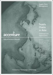 Supply Chains in Asia: