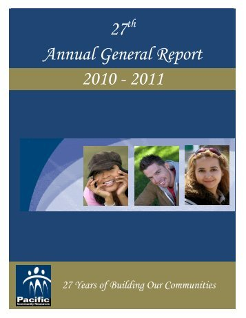 2010 - 2011 - Pacific Community Resources