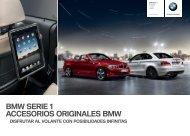 BMW SERIE  ACCESORIOS ORIGINALES BMW Alfombrilla de ...