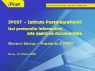 IPOST – Istituto Postelegrafonici - Key4biz