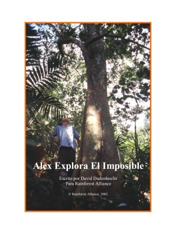Alex Explora El Imposible - Rainforest Alliance