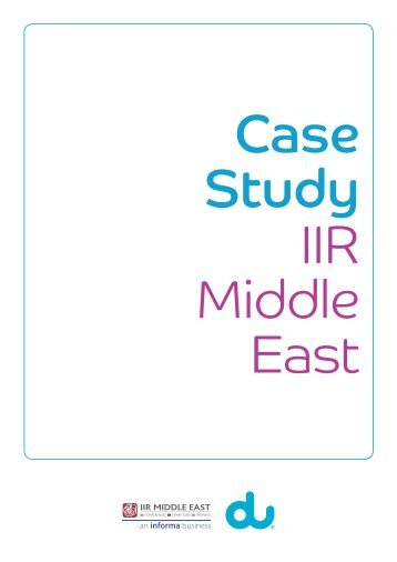 Du Case Study -IIR.indd