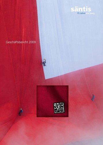 Geschäftsbericht 2009 - Säntis