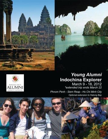 Young Alumni Indochina Explorer - UMD Alumni Association ...