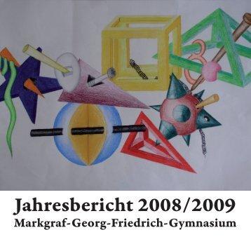 Jahresbericht 2008/2009 - MGF-Kulmbach