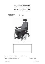 Mini Crosser Jazzy 1121