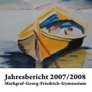 Jahresbericht 2007/2008 - MGF-Kulmbach