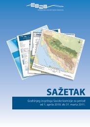Sažetak Godišnjeg izvještaja Savske komisije za period od 1. aprila ...