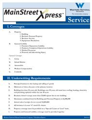 MainStreetXpress service 1.ai - Western National Insurance Group
