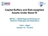Capital Buffers and Risk-weighted Assets Under Basel III - METAC
