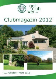 Stefanie Nordwig - Golfclub Werl