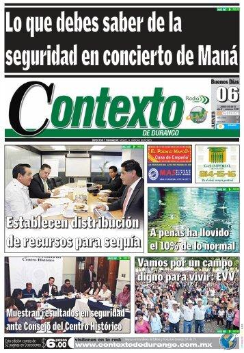 06/06/2013 - Contexto de Durango