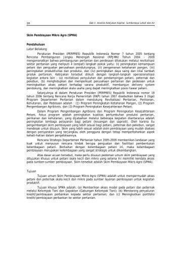 Skim Pembiayaan Mikro Agro - Pusat Sosial Ekonomi dan ...