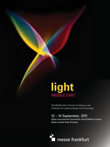 Light ME brochure 2011 - Targi Frankfurt