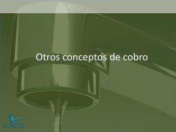 Otros conceptos de Cobro - Aneas