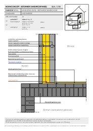 aansluiting gevel - bestaande gemene muur - Febelcem