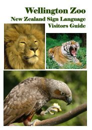 Wellington Zoo - SignPlanet.net