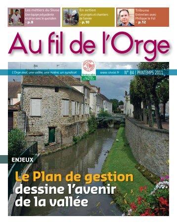 ENJEUX Le Plan de g estion dessine l'avenir de la vallée - Sivoa