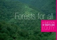 Forests for all: a question of rights and equity - CARE Climate Change